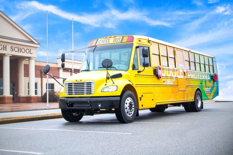 Jouley C2 Electric School Bus
