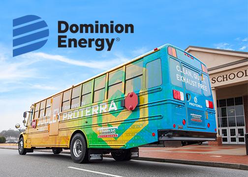 Dominion Energy Electric School Bus Announcement