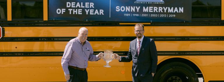 Sonny Merryman 2019 Thomas Dealer of the Year