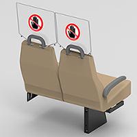 Passenger Sneeze Guards